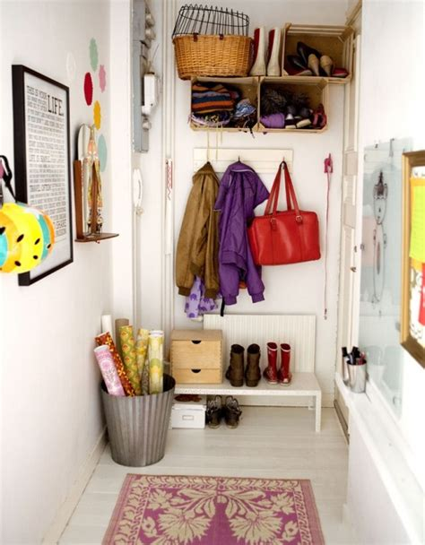 cheap storage options 75 clever hallway storage ideas digsdigs
