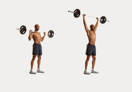 Barbell Tangan Tips 5 Latihan Otot Bahu Untuk Tubuh Ideal Satpam Culuy
