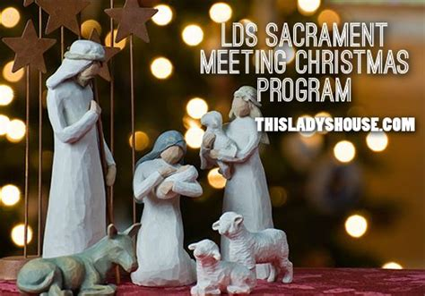 family christmas program lds sacrament program this s house church ideas i am and