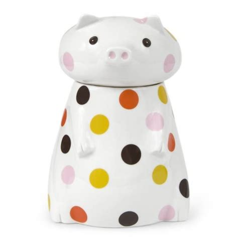 pig kitchen canisters ceramic pig canister jonathan adler need