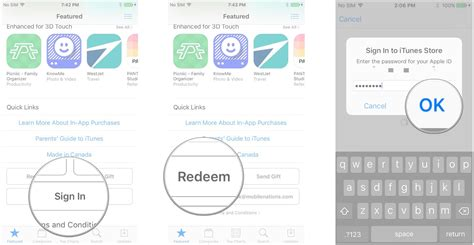 How To Redeem Gift Card On Ipad - how to gift and redeem apps and gift cards in the app store imore