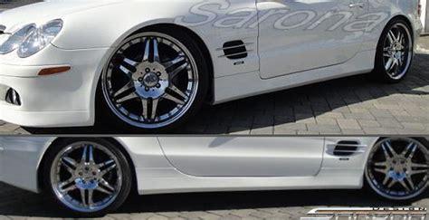 C E Auto Upholstery Custom Mercedes Sl Side Skirts Sarona