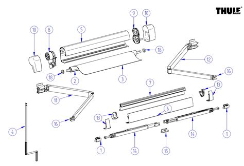 awning replacement parts awning awning parts
