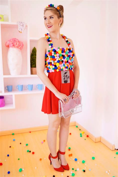the joy of fashion halloween homemade gumball machine