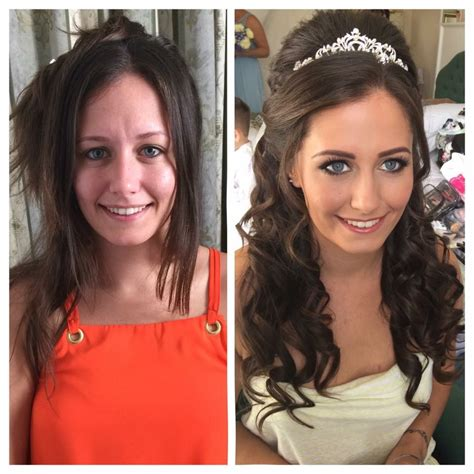 wedding hair and makeup plymouth uk before and after hair and makeup wedding hair and makeup