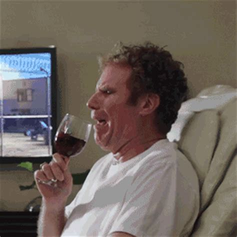 Depressed Drinking Meme - sad will ferrell gif find share on giphy