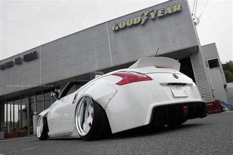 nissan 370z widebody aimgain wide body kit for nissan 370z ravspec