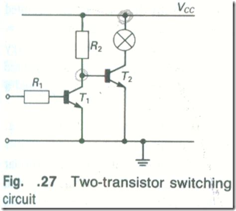 bipolar transistor as switch the bipolar transistor as a switch science universe physics articles