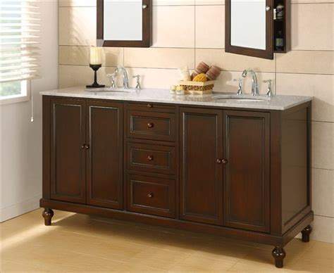 Bathroom Dual Sink Vanity bathroom vanities traditional bathroom vanities and sink consoles los angeles by