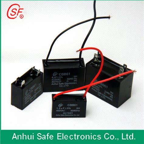 capacitor fan gutor electronic ltd capacitor do ventilador cbb61 capacitor do ventilador cbb61 fornecido por anhui safe