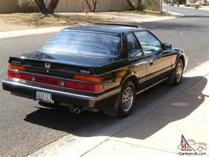 1986 Honda Prelude 1986 Honda Prelude 2 0 Si Excellent 1 Owner For 21 Years