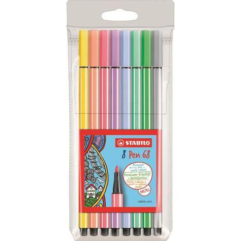 Stabilo Original Pastel stabilo pen 68 pastel fineliner pens from ocado