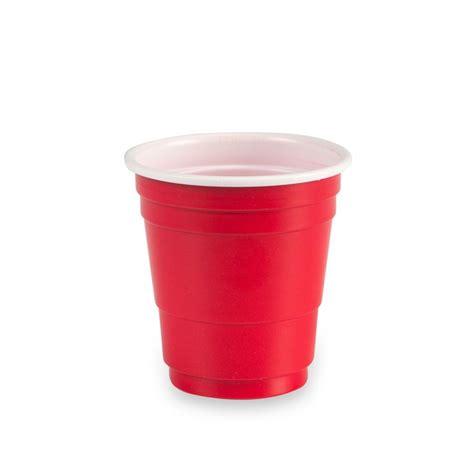 mini plastic glasses mini red cup disposable plastic shot glasses 2 oz pack