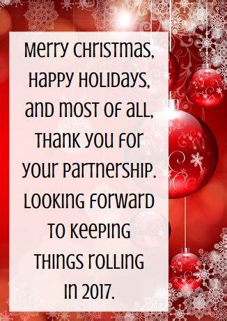 business   messages examples  christmas