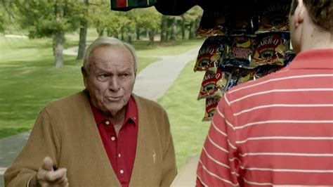 usga commercial actress usga tv commercial snack truck featuring arnold palmer