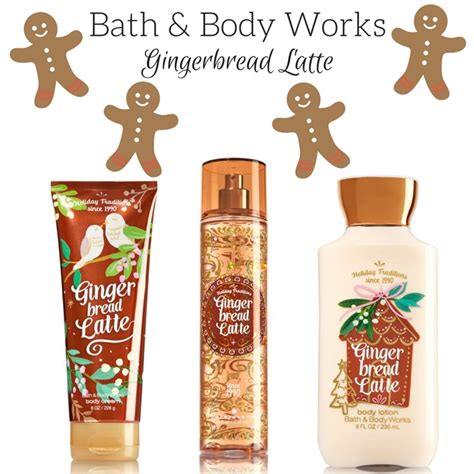 bath and works bath works gingerbread latte arrives for the