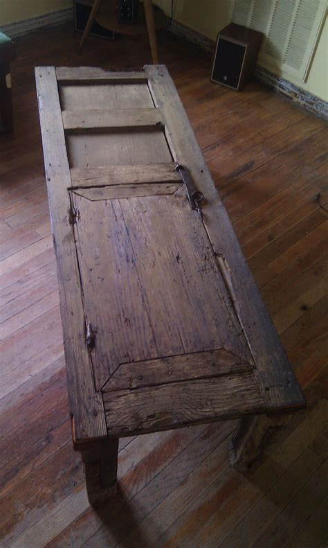 Antique Mexican Door Made Into Coffee Table Legs Were Coffee Table Made From Door