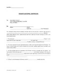 tenant certificate fill online printable fillable