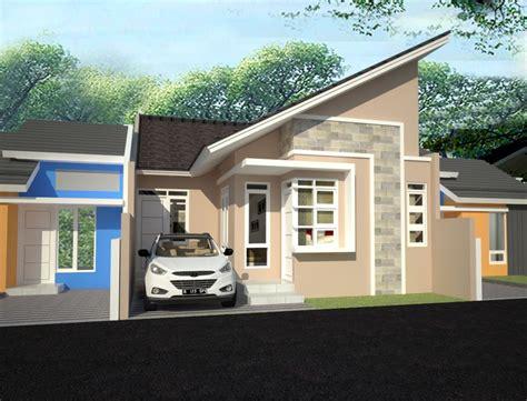 desain rumah jengki rumah atap miring minimalis pt desain griya indonesia