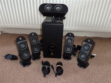 multimedia home theatre speaker system logitech