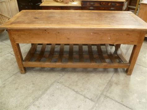 Antique Kitchen Island Table Antique Pine Mill Table Kitchen Island 236890 Sellingantiques Co Uk