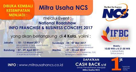 membuka usaha event organizer sukses wirausaha bersama ncs dalam event ifbc 2017 mitra