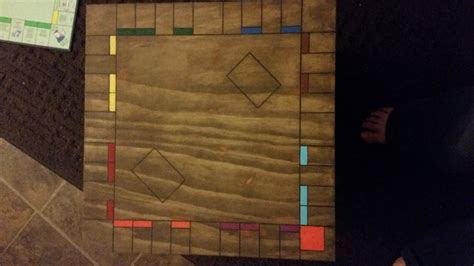 custom wooden monopoly board  salvagedwoodworks
