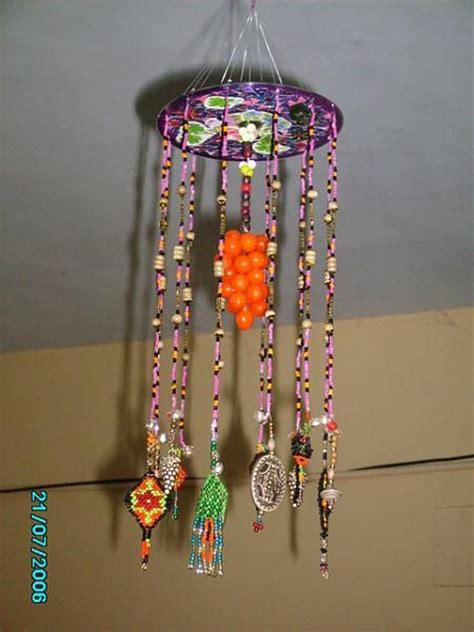 craft from waste for crafts ideas using trash craft work hangings using
