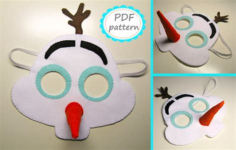 printable mask frozen 8 best images of olaf printable mask olaf frozen face