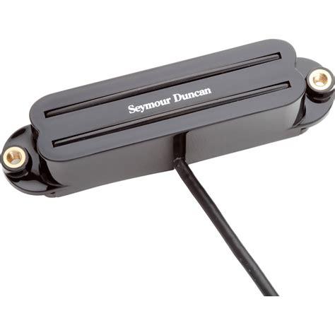 Seymour Duncan Up Gitar Strat Rail Shr 1n Hitam seymour duncan shr 1n rails strat neck 11205 01 b b h
