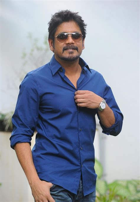 nagarjuna tattoo pic nagarjuna latest photos at damarukam pressmeet
