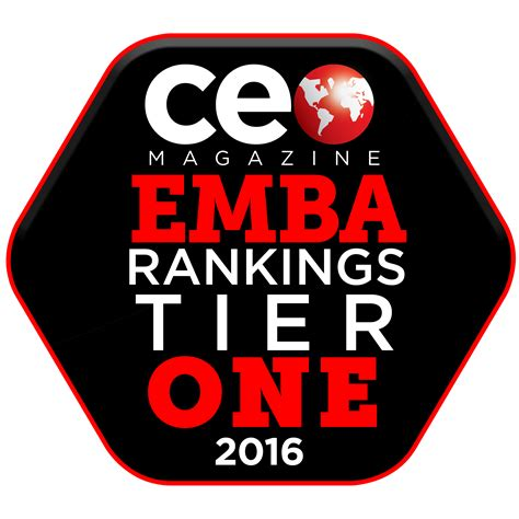 Ceo Magazine Mba Rankings 2014 by Mba And Emba Programs Again Earn Tier One Status In