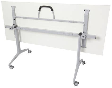 Folding Table With Wheels Flip Folding Table On Wheels