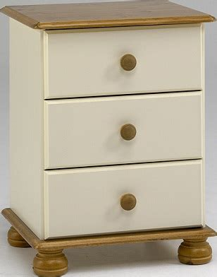 cream antique bedroom furniture richmond cream antique pine 3 drawer cabinet bedroom