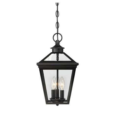 Acclaim Lighting Richmond Collection 3 Light Matte Black Lights Lanterns