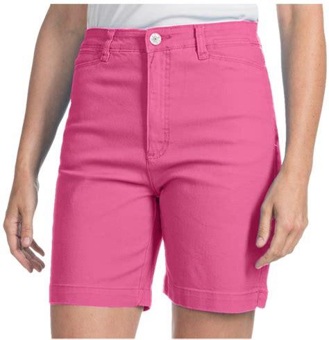 colored denim shorts pink denim shorts fdj dressing suzanne shorts