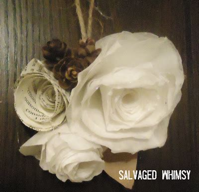 rolled paper flower wreath tutorial salvaged whimsy tutorial rolled paper flower wreath