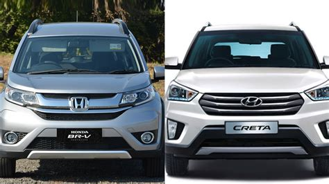 honda vs hyundai honda br v vs hyundai creta comparison