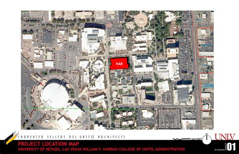 unlv map hospitality in the of unlv s cus travelivery