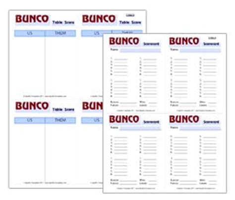 Free Bunco Score Card Templates by 50 Best Bunco Bombshells Images On Bunco Ideas