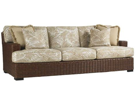tommy bahama couch tommy bahama outdoor ocean club pacifica wicker sofa 3130 33