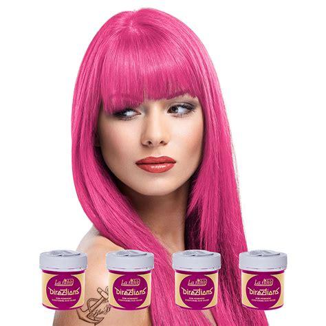 la riche directions semi permanent hair colour carnation la riche directions pink carnation semi permanent kit