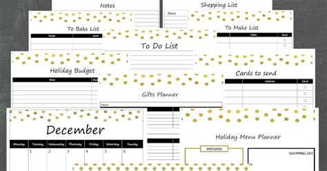 christmas planner free printable 2015 ioanna s notebook 2015 free printable holiday planner