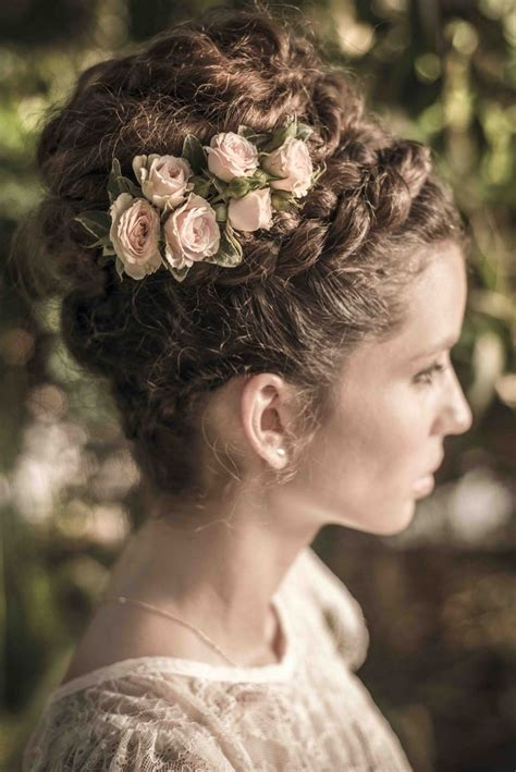 retro hairstyles braids beautiful braided updo photo haim afriat bridal