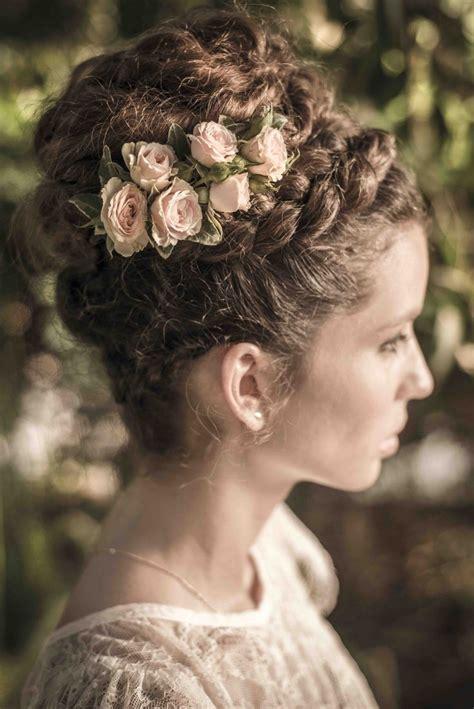 vintage hairstyles braids beautiful braided updo photo haim afriat bridal