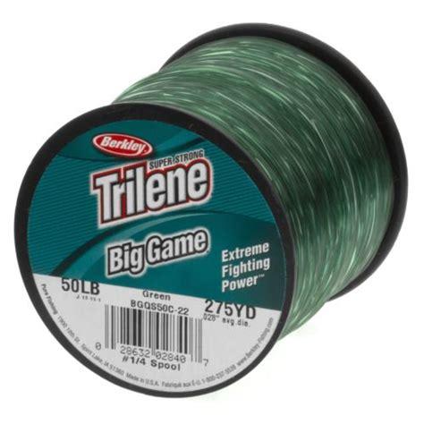 Terlaris Senar Pancing Berkley Trilene Big berkley 174 trilene big 50 lb 275 yards monofilament