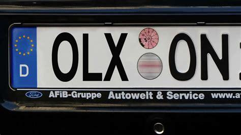 Auto Kennzeichnen by Cdu Will Autokennzeichen F 252 R Ohligs Solingen