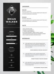 word format cv template 10 best free resume cv templates in ai indesign word