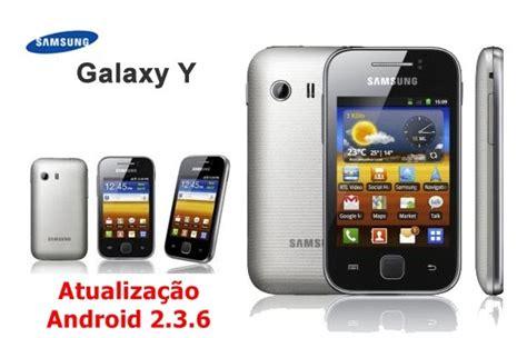 samsung galaxy y s5360 upgrade android 236 gingerbread samsung galaxy y atualiza 231 227 o android 2 3 6 pt br galaxy y