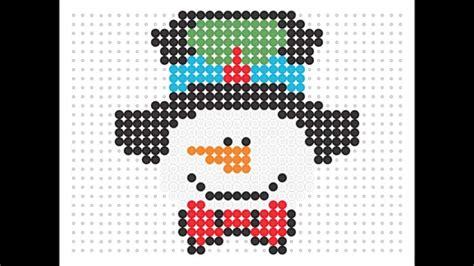 hama snowman hama bead snowman series 3 10
